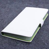 Магнитный чехол-книжка для Lenovo K3 Note, K50-T5, A7000. Белый.