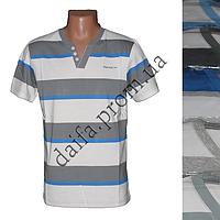 Мужская котоновая футболка RB3115 (в уп. до 5 разных расцветок) оптом со склада в Одессе