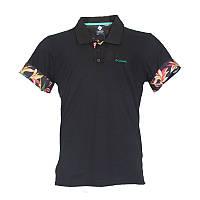 Мужская рубашка-поло Columbia VERTICAL RELIEF™ POLO черная AM1266 010