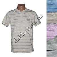 Мужская котоновая футболка RB3505 (в уп. до 5 разных расцветок) оптом со склада в Одессе