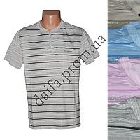 Мужская котоновая футболка RB3507 (в уп. до 5 разных расцветок) оптом со склада в Одессе