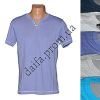 Мужская котоновая футболка RB3726 (в уп. до 5 разных расцветок) оптом со склада в Одессе
