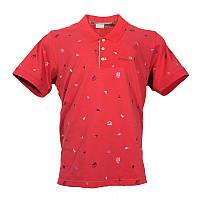 Мужская рубашка-поло Columbia CASCADE RANGE™ NOVELTY POLO красная AO1216 683