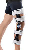 Ортез коленного сустава с регулировкой и ограничителями сгибания 52001 WellCare