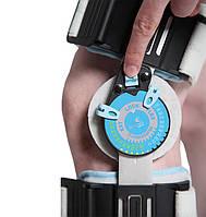 Ортез коленного сустава шарнирный послеоперационный регулируемый с системой фиксации 52003 WellCare