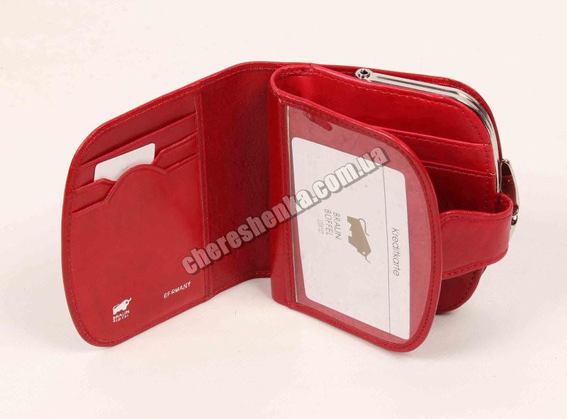 e4bdd15b16d0 Женский кожаный кошелек Braun Buffel BR-634 Красный, цена 573 грн., купить  в Хмельницком — Prom.ua (ID#519660416)