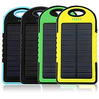 Портативное зарядное устройство Power Bank SOLAR 20000mAh с солнечной зарядкой