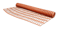 Сетка аварийная Barrier Net 100г/м², яч. 90x26мм, 1x30м оранжевая