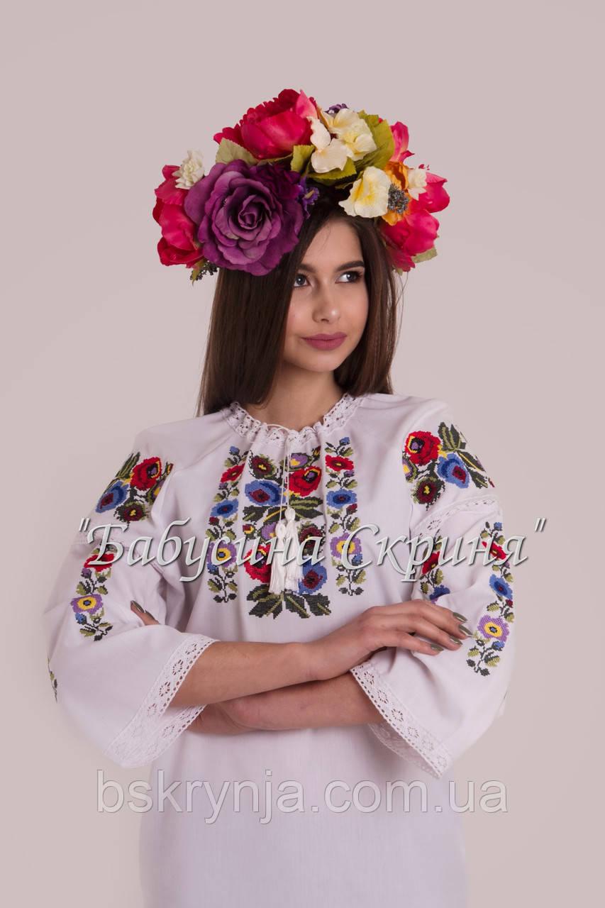Жіноча вишита сорочка.Вишиванка жіноча МВ-119