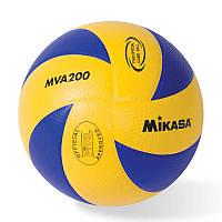 Мяч волейбольный Mikasa MVA 200 мяч для игр