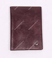 Кожаная обложка на паспорт Braun Buffel BR-619