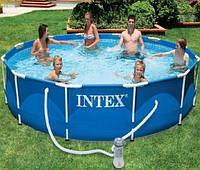 Бассейн каркасный Intex 366х76 см с фильтр-насосом (56996, 28212)