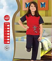 Пижама для девочки Лето 7-8, 9-10, 11-12, 13-14 лет