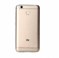 Оригинальный силиконовый чехол для Xiaomi Redmi 4x белый