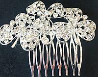 Гребешок для волос три цветка