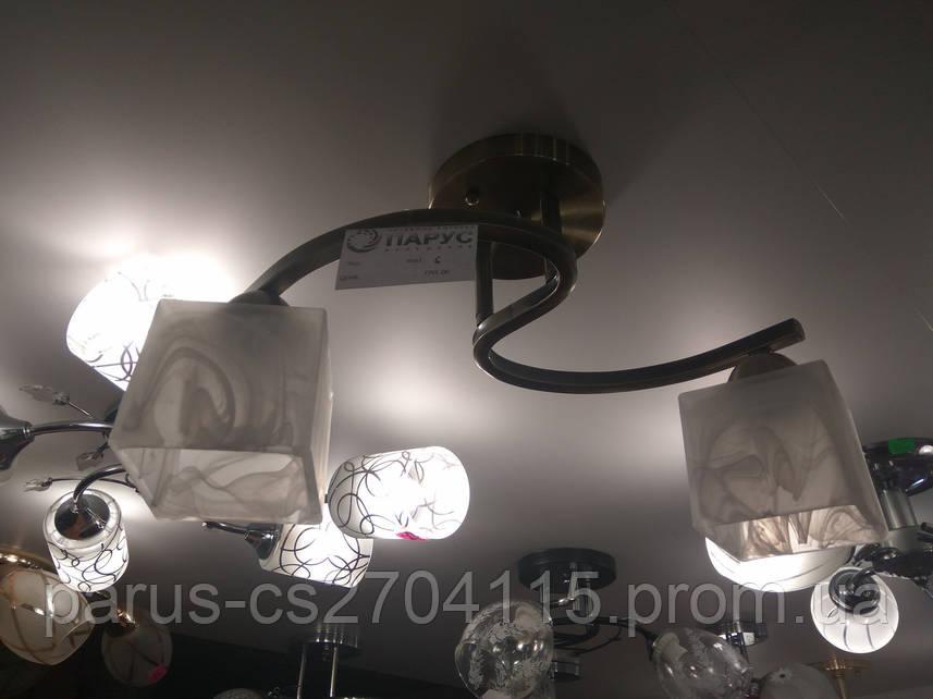 Люстра потолочная на 2 плафона