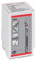 Пилки лобзиковые Bosch 100 шт T 144 D, HCS
