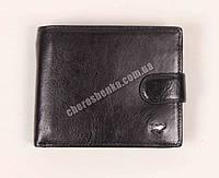 Мужской кожаный кошелек Braun Buffel BR-618 Черный
