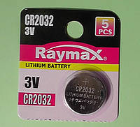 Батарейка литиевая Raymax CR2032 Lithium 3V