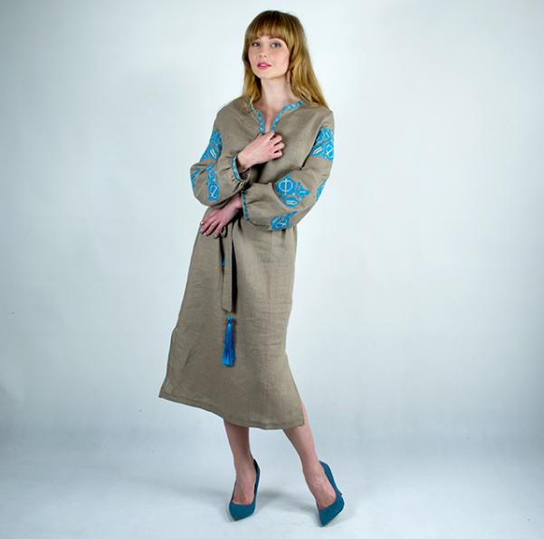 80de567c0897b5 Вишиті плаття - Барвінок: продажа, цена в Хмельницком. этническая ...