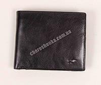Мужской кожаный кошелек Braun Buffel BR-641 Черный