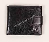Мужской кожаный кошелек Braun Buffel BR-662 Черный