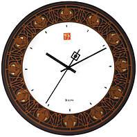 Часы настенные BULOVA C3339 (300 мм) [Дерево]