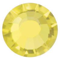 Стразы в цапах Preciosa (Чехия) ss10 Citrine/золото