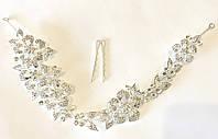Свадебная ветка, украшение для волос на праздник