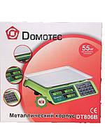 Торговые весы до 55 кг Domotec DT-806B