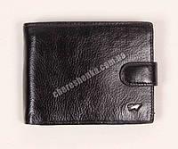 Мужской кожаный кошелек Braun Buffel BR-603 Черный