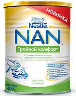 Nestle Молочная смесь NAN Тройной комфорт 0м+ 400г