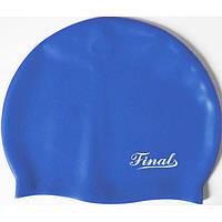 Шапочка для плавания Finals, силикон, разн. цвета, фото 1