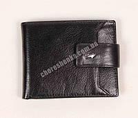 Мужской кожаный кошелек Braun Buffel BR-6002 Черный