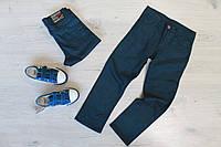 Классические синие брюки для мальчика Турция р. 10 лет