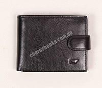 Мужской кожаный кошелек Braun Buffel BR-640 Черный