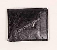 Мужской кожаный кошелек Braun Buffel BR-6001 Черный