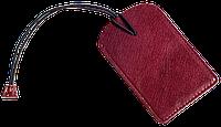 Бирка для багажа/на чемодан *Air* Premium (винный)