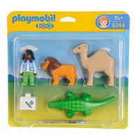Игровой набор Playmobil 6744, Ветеринар! От 1,5 лет!