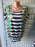 Жіноча блузка штапель ( Xl,2Xl,3XL,4XL) купити оптом