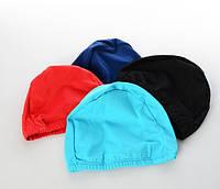 Шапочка для плавания тканевая МS 1019, полиэстер, разн. цвета