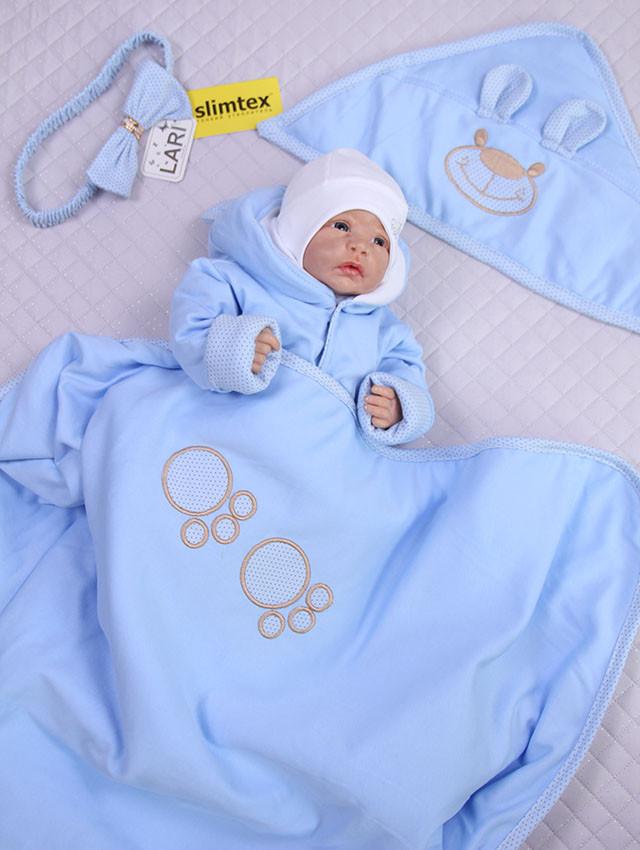 конверт+комбинезон для новорожденных