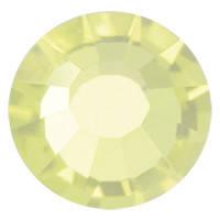 Стразы в цапах Preciosa (Чехия) ss16 Jonquil/серебро