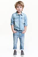Джинсы для мальчика H&M на 3-4, 4-5, 7-8 лет.
