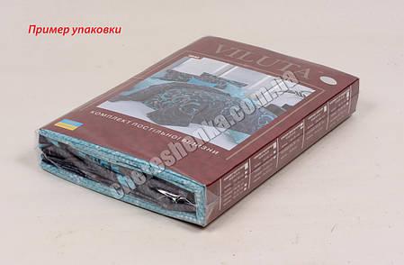 Евро макси набор постельного белья 200*220 из Ранфорса №17145 Viluta™, фото 2
