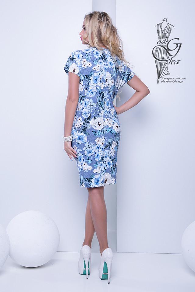 Фото-2 Женских летних платьев большого размера Лонда-4