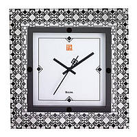 Часы настенные BULOVA C3337 (318x318x40 мм) [Металл]