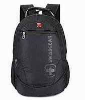 Swissgear Рюкзак оригинал black / городской рюкзак, модный, эко кожа