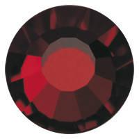 Стразы в цапах Preciosa (Чехия) ss20 Garnet/серебро