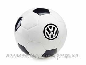 Футбольный мяч Volkswagen Logo Football, White/Black